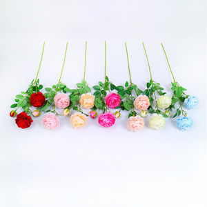 Promo wholesale preserved fabric artificial flower