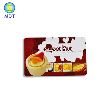 MDT hot sale plastic pvc scratch cards  lottery card made in China