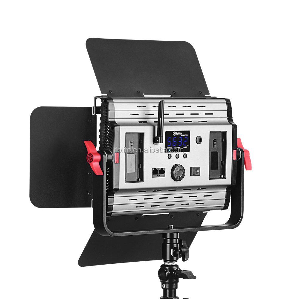 Tolifo cri 98 led video light for photography