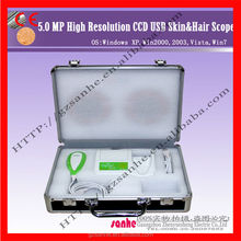 Salon or Home use digital skin and hair diagnosis machine