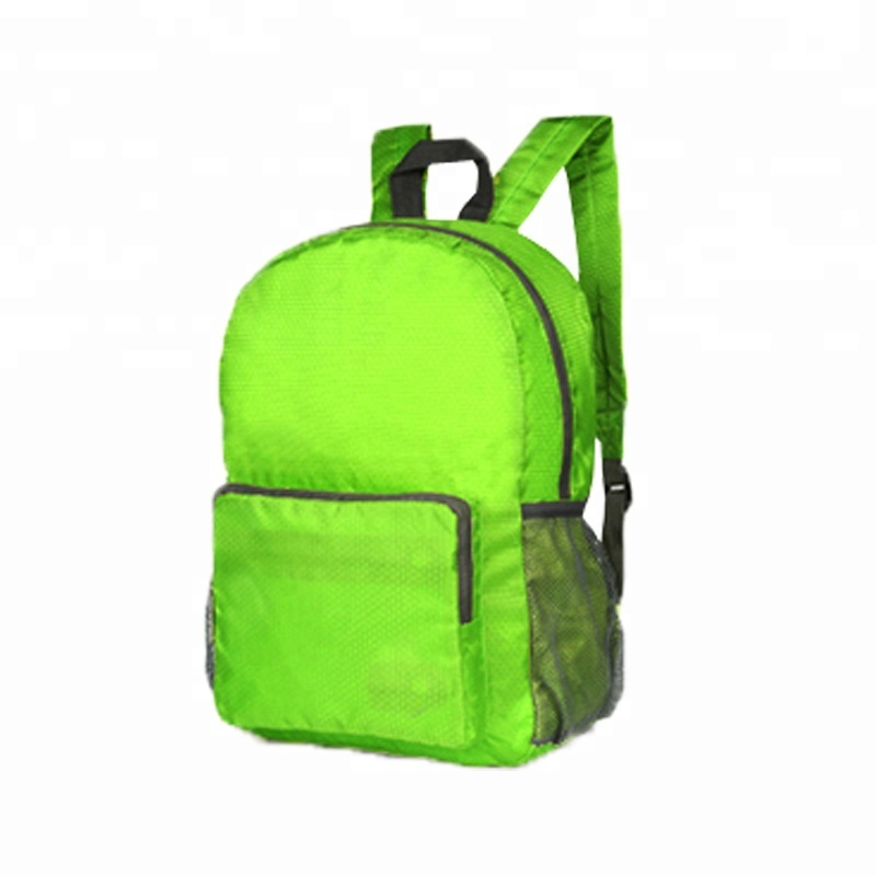 Foldable large capacity waterproof <strong>school</strong> 600D polyester backpack