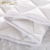 100% Polyester 200GSM quilted white color Waterproof mattress protector