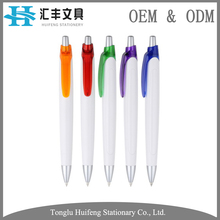 HF5207B new design hot sale school office stationery promotional decorative ballpoint pen with custom logo