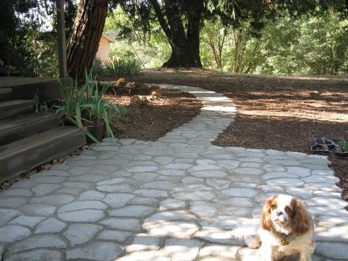 unidscaja para hacer bricolaje piedra jardn pavimento paseos de adoquines de hormign del