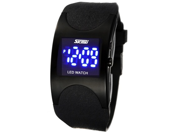 SKMEI 0951 Life Water Resistant LED Digital Display Alloy Case Sport Electronic Wrist Watch Relogio Masculino 2015 Flash Deals