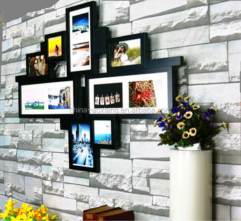 2018world Cup Beautiful Black Or White Photo Frames Handmade Wall
