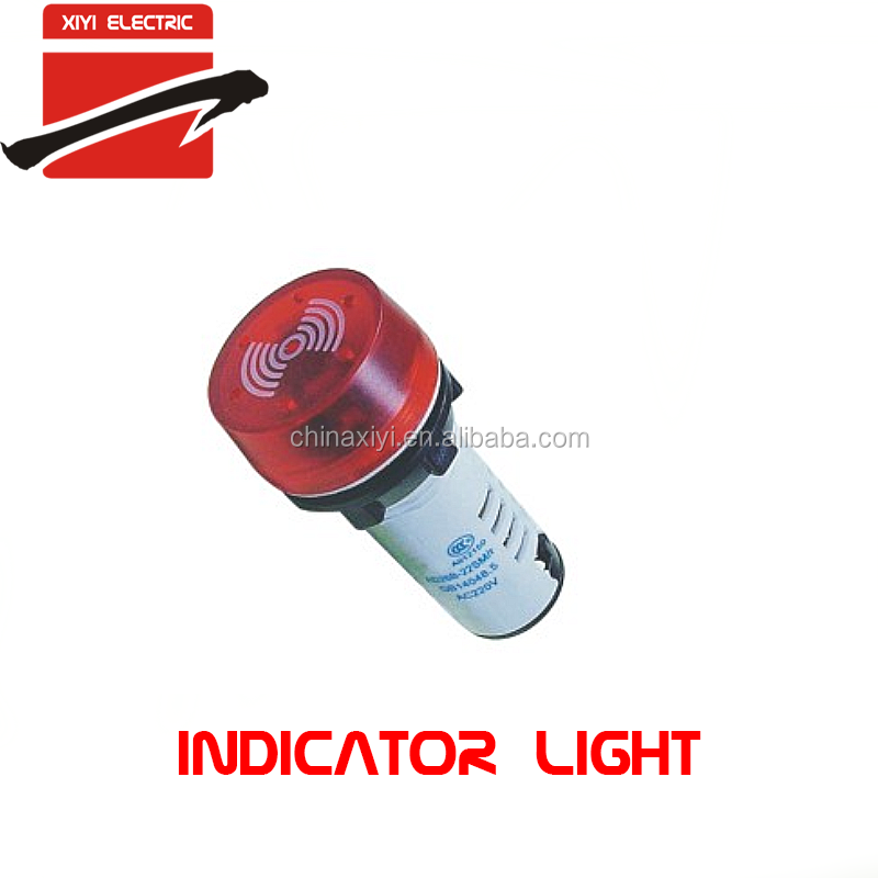 6mm 22mm led indicator light lamp buzzer for alarm switch