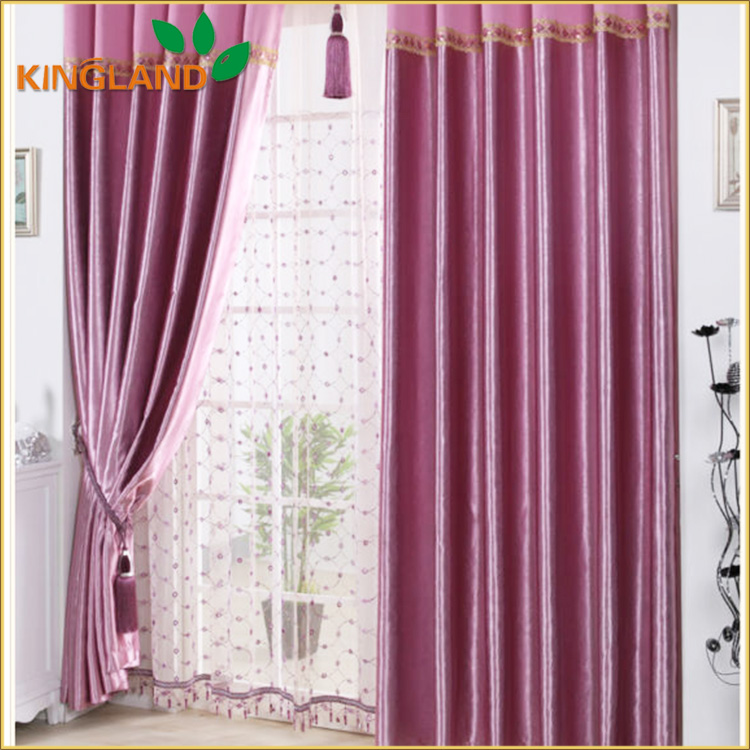 2016 New Design Blackout Curtain Design,Curtains In