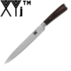 Beauty Pattern Blade 8 Inch Length Size Cooked Food Slicing Knife With More Safety Package