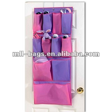 fashion and nice colors storage bags door organizer