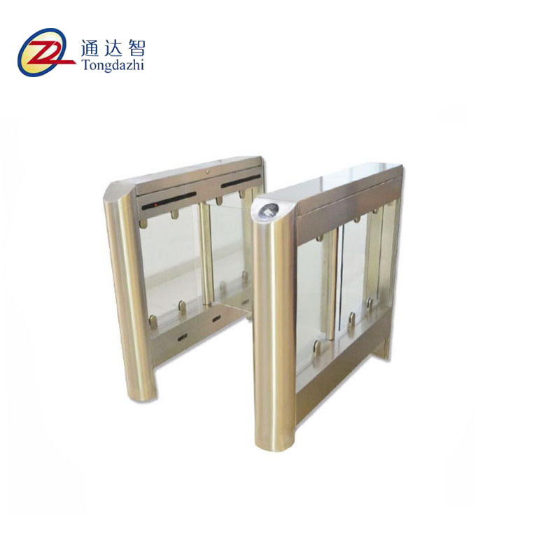 Automatic 304 stainless steel RFID card reader ticket subway swing barrier with alarm function