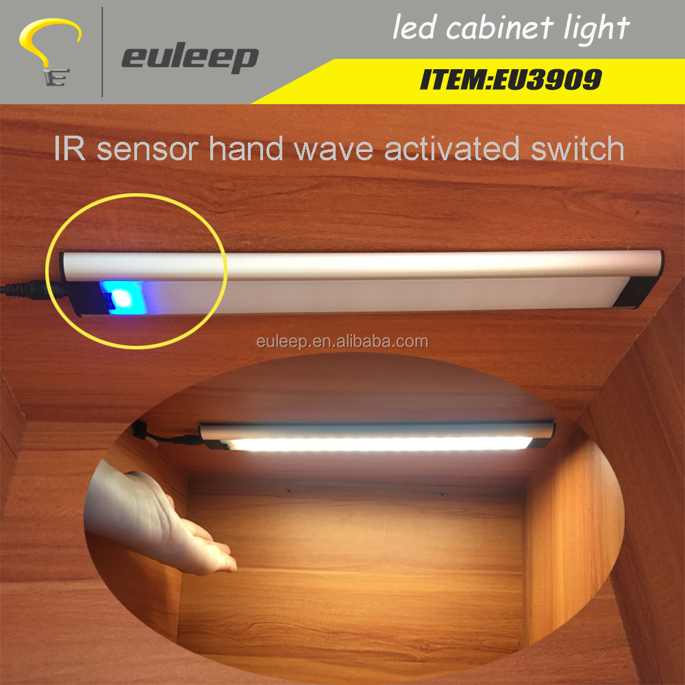 Under Cabinet Led Light Ir Sensor Touch Switch Lighting Dimmable Lights