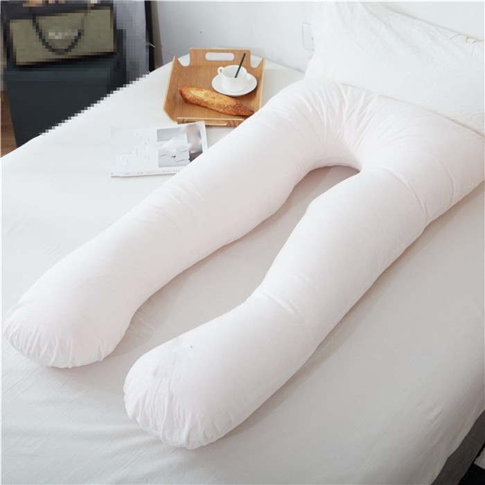 Pregnancy Pillow 100% Cotton Contoured Maternity U Shaped Body Pillows