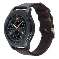 Wholesale Leather Smart Watch Band for Samsung Gear S3 Classic/Frontier