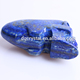 Hand made promotional gift lapis lazuli crystal skull models,carved blue skull models