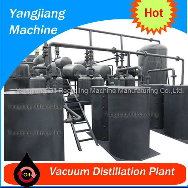 Waste Engine Oil Vaccum Distillation Plant YJ-TY-28
