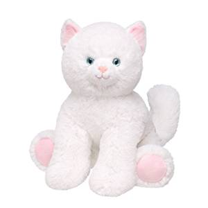 0739e0e15 Get Quotations · Build a Bear Workshop, Cream Puff Kitty Cat Stuffed Animal,  16 in.