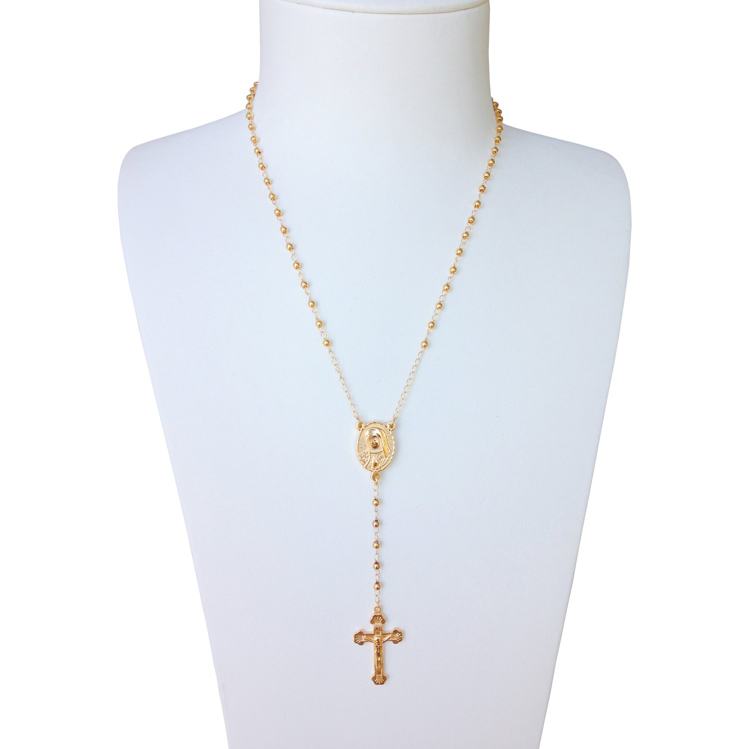 373dd5f4d9aeb Cheap Gold Rosary Necklace For Women, find Gold Rosary Necklace For ...