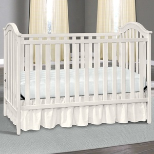 4 in 1 convertible crib /adjustable wooden beik cot for baby