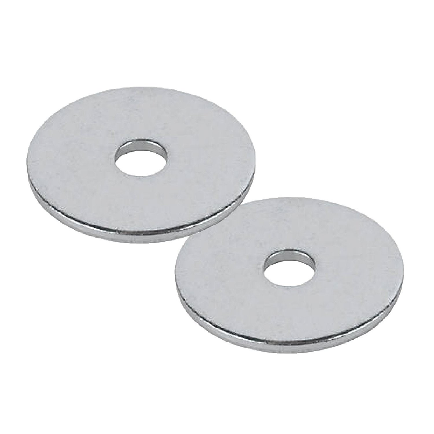 100 x Steel Backing Washers for 4.8mm Blind Pop Rivets M5 x 25mm Bright Zinc Plated