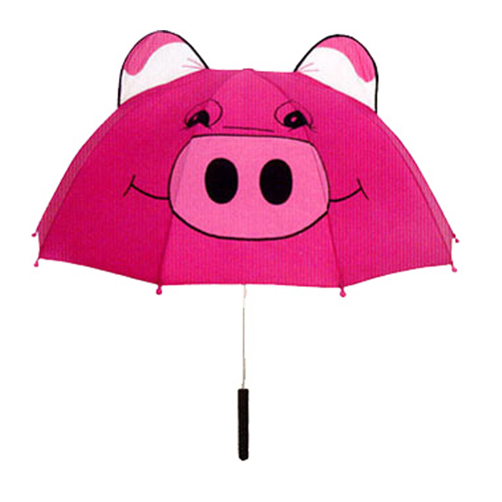 Umbrellas Clothing, Shoes & Accessories Kids Children Cute 3D Animal Ears Sun Rain Anti-UV Windproof Umbrella W/Whistle