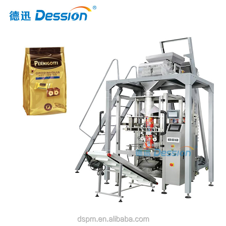 Automated Stand Up Bag Packing Machine For Candy Snacks With Granule Packing Machine Guangdong Manufacturer