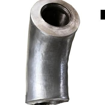 DIN 90 degree 3 inch carbon steel elbow