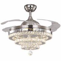 Modern Decorative Ceiling Fans with led light