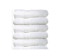 Hotel Soft Comfortable White Cotton Disposable Towel
