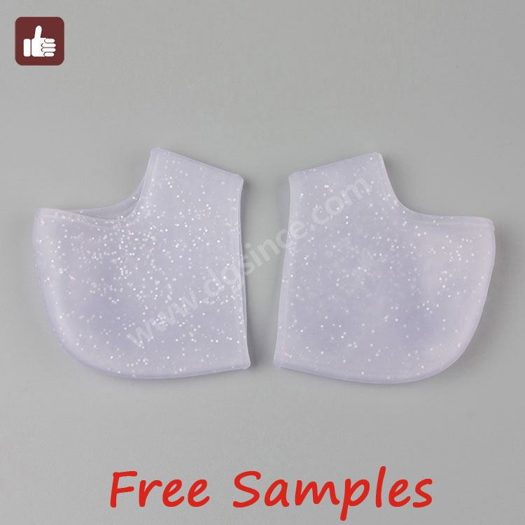 Foot Care silicone round dot stickers to reduce heel pain