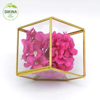 Meja kantor taman kustom pernikahan dekorasi vas bunga kecil geometris persegi  persegi panjang pot untuk succulents e9b5d36f0a