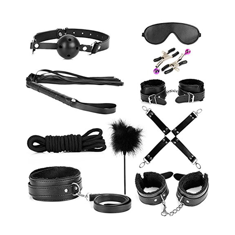 Bdsm fetish toys devices adults black stock photo