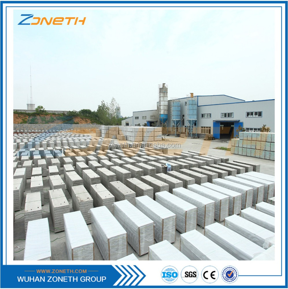 Heat resistant hot sell eps concrete retaining wall block molds