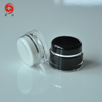 Cosmetics Packaging Round Acrylic Cream Jar For Skin Care Cream