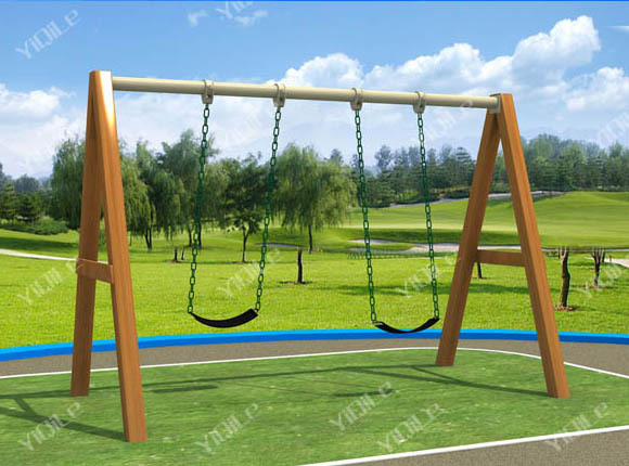outdoor baby swing frame wooden swing set - Wooden Swing Frame