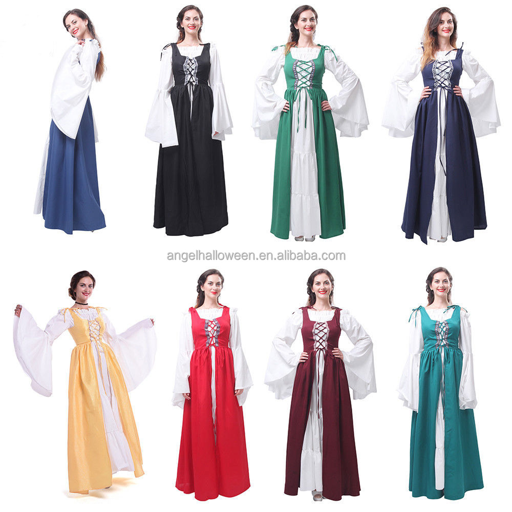 Medieval Queen Historic Royalty Historic Adults Womens Fancy Dress Costume