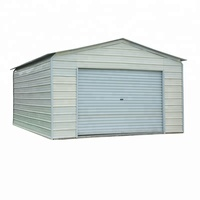 wholesale EPS sandwich panel garage & Prefab garage with eps sandwich wall,eps sandwich door ,can keep warm