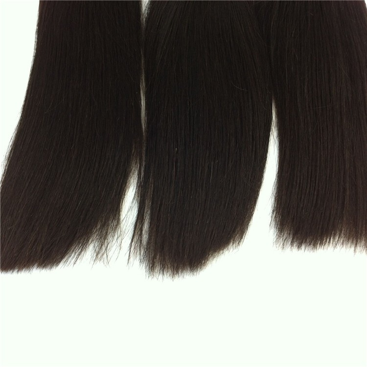 Wholesale grade 7a high quality 100 remy hair extension telephone wire hair band