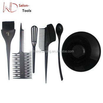 Pro Hairdressing Dyeing Mixing Bowl Brush Comb Set Hair Coloring ...