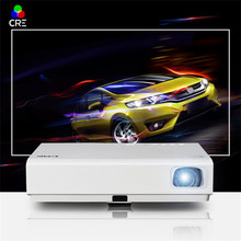 "X2500 CRE Full HD DLP Led 3D Projector 3800 Lumens Video Digital Beamer Proyector High Brightness Project 300"" screen"