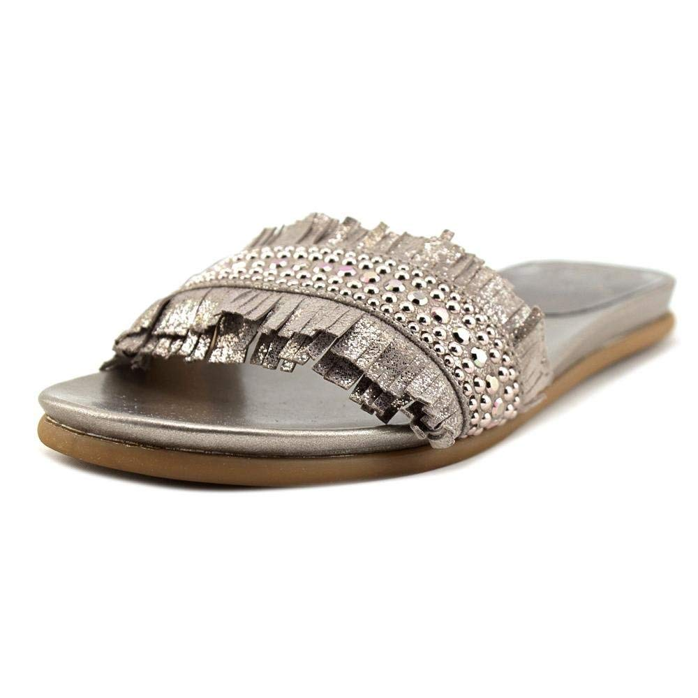 3f364a802 Get Quotations · Vince Camuto Womens Ettina Leather Open Toe Casual Slide  Sandals