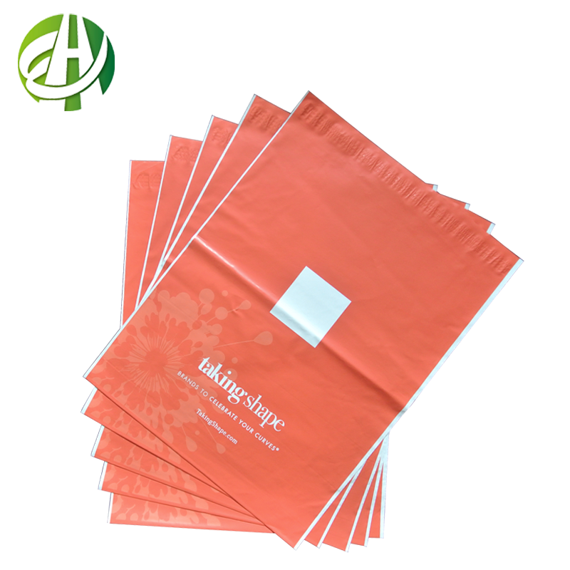 custom printed postage plastic bag mail carrier bag for express company cloth carrying bag