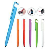 wholesale in stock free samples gift item Cheap plastic stylus pen 3 in 1 multifunction pen gift