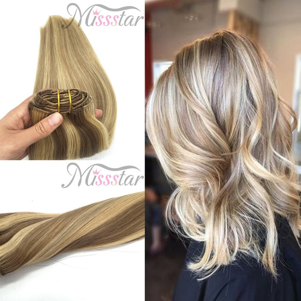 Buy Missstar 18 7pcs Full Head Remy Clip In Human Hair Extensions