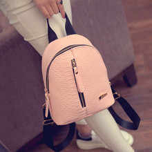 1fc5fb38b0 Ulrica 2017 Cute Korean Small New Women Bag Packs Quality PU Leather  Fashion Bags Mini Backpack