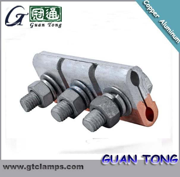 Aluminum alloy c type wedge clamp amp connector