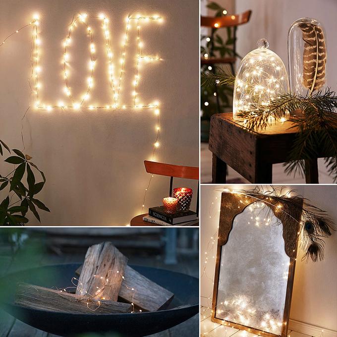 Wedding Decorator 360 Irritation Angle Led Copper Wire Tree Light ...