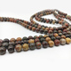 wholesale natural red grey ocean picasso jasper stone bead strands