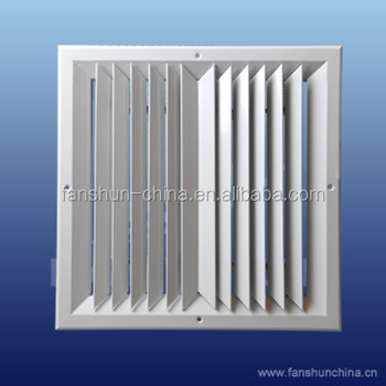 Square Air Diffuser With Damper Cd Sa2 A Vcd Buy Air Grille Square Diffuser Ventilation Product On Alibaba Com