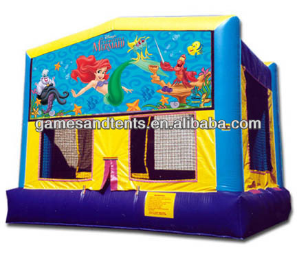 2014 hot sale,inflatable bouncer,inflatable mermaid castle,bouncy castle A2014